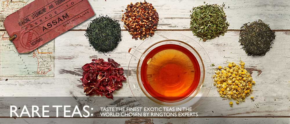 Taste The Finest Exotic Rare Teas