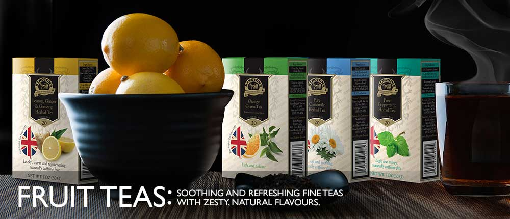 Soothing and refreshing fine and fruit teas