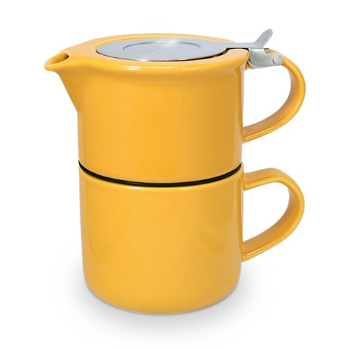 Tea Pot Yellow 2