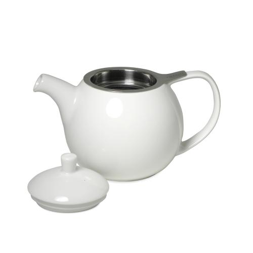 Topless White Tea Pot