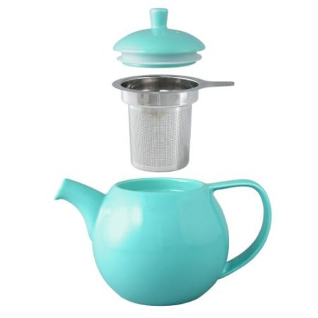 Blue Tea Pot With Screen