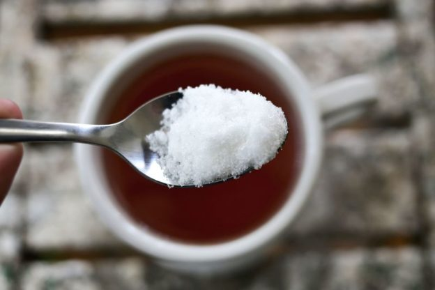 Sugar in you tea
