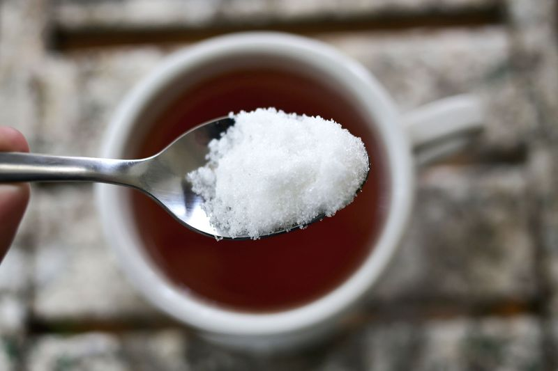 Sugar in you tea