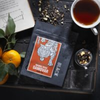 Ringtons Orange Spice Samovar. Loose tea