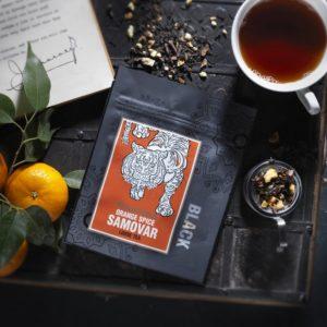 Ringtons Orange Spice Samovar. Loose tea