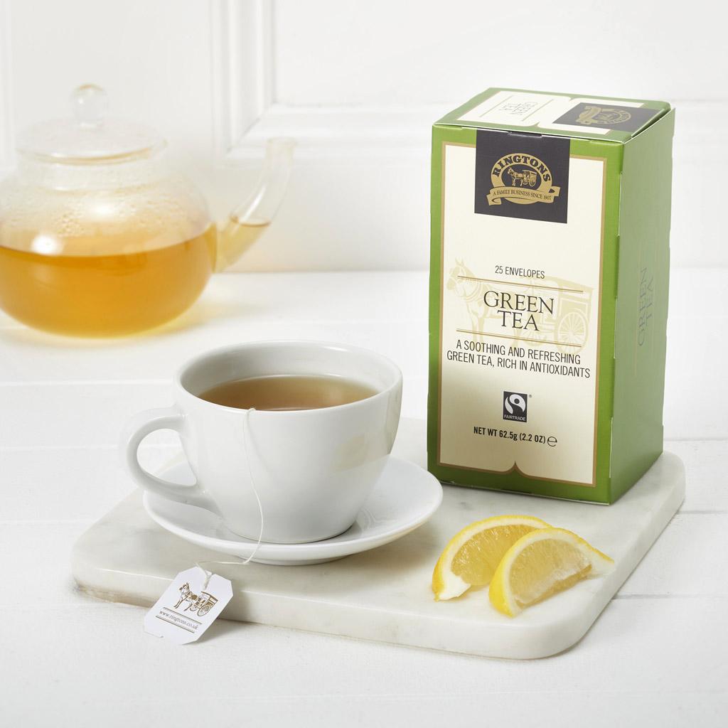 Green Tea Tag & Envelope 25's
