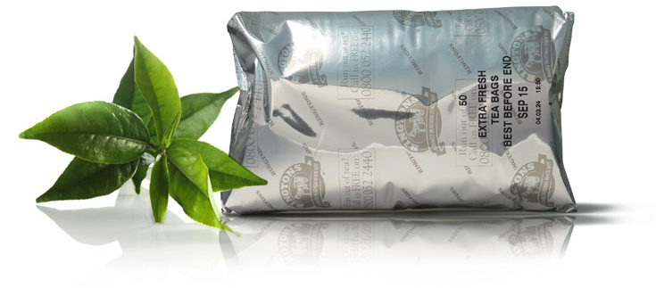 Ringtons tea foil